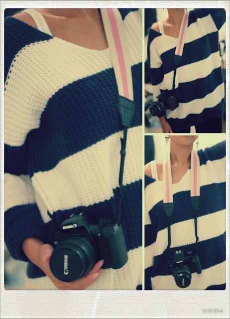 New In. Camera Strap ♥