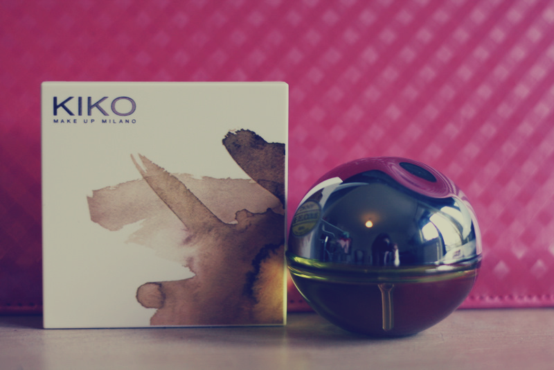 new in. Kiko Blush & DKNY Parfum