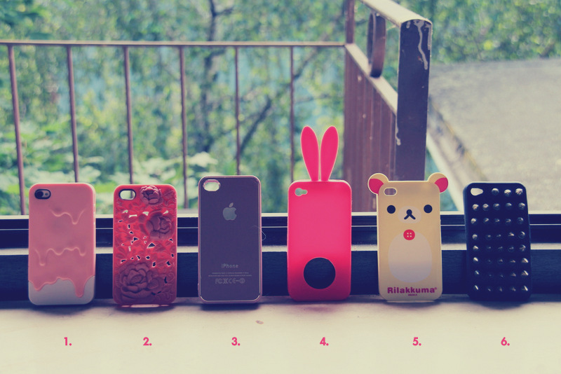 Wishpost no. 10 – My iphone cases