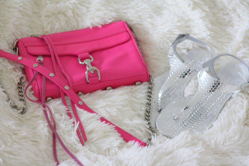Rebecca Minkoff Mini Mac in Poppy Pink