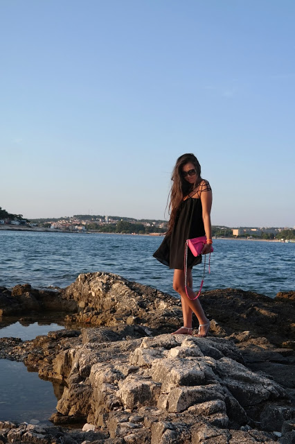 The little black cage dress and Croatia Pt. 1
