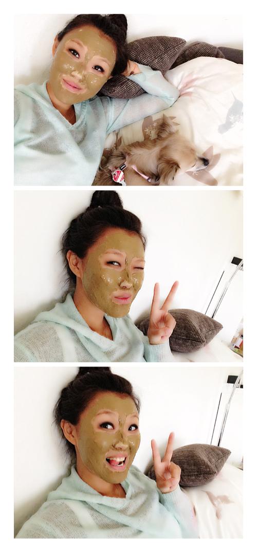 Gesichtsmaske: Heilerde