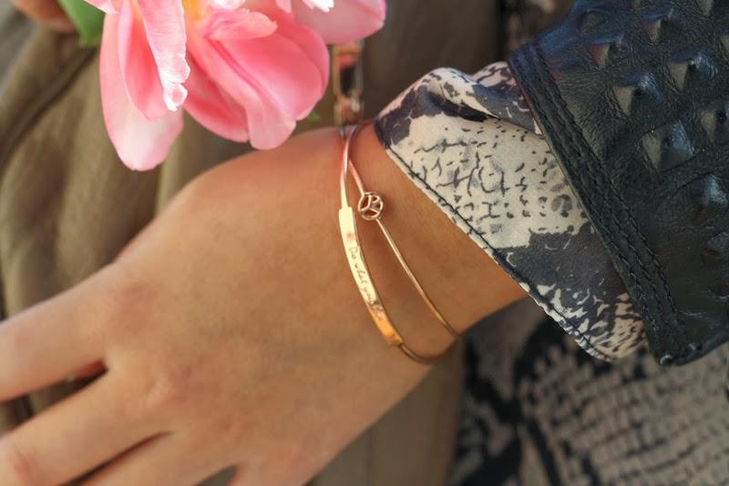 rosegold. snake print. leather. freundschaft.