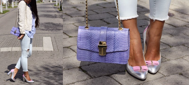 Icy colours and Jamie Jacobs Shoes