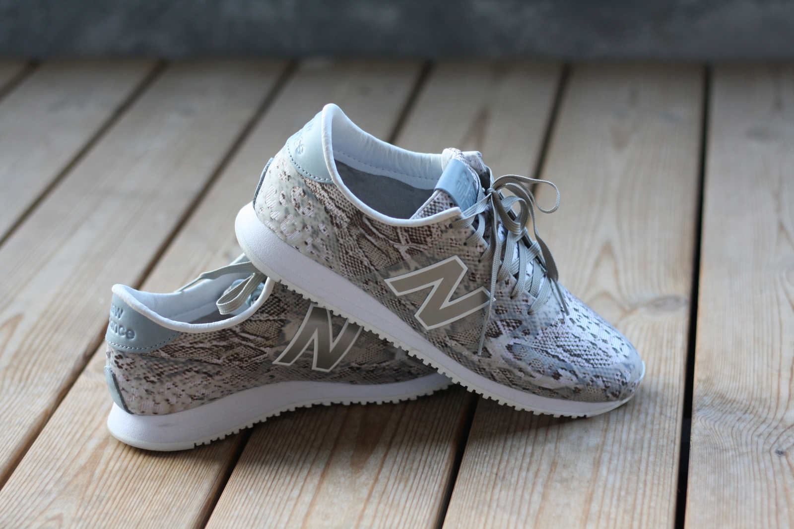 New in: New Balance 420 Snake.