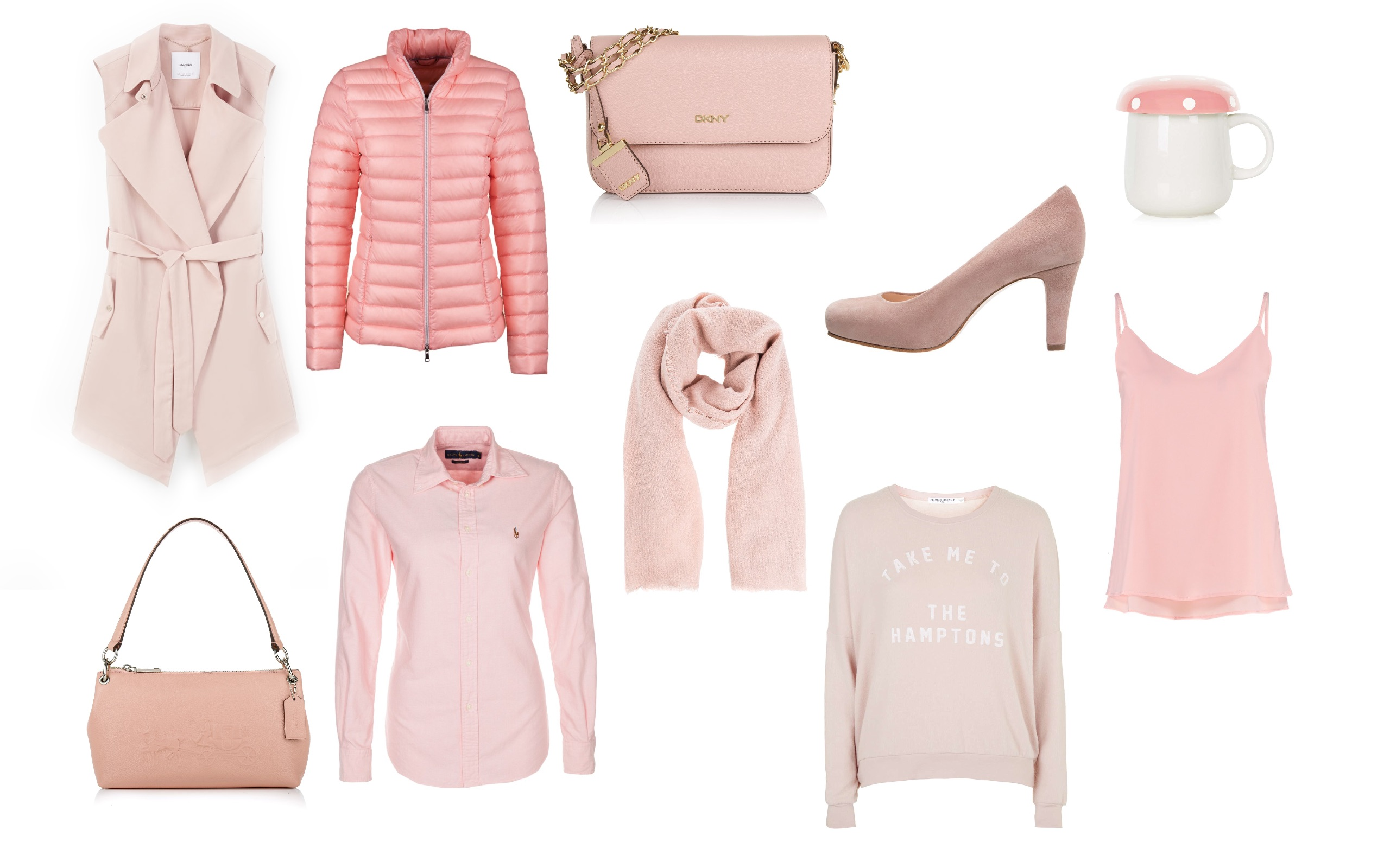 Fashion picks in Rose Quartz & Serenity