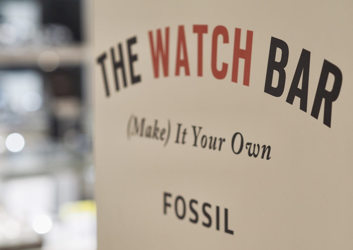 Tipp: Fossil Aktion bis 23. Oktober 2016 im Galeria Kaufhof auf der Zeil, Frankfurt am Main