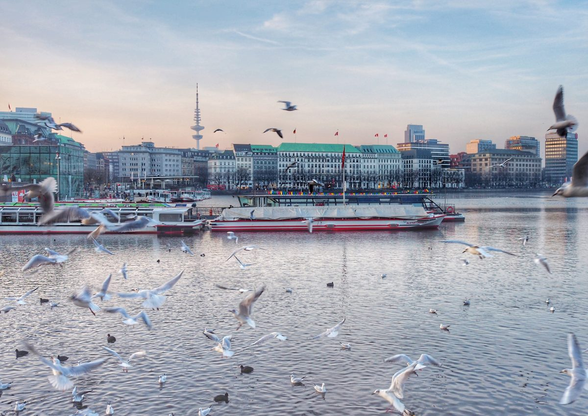 Hamburg im Schnelldurchlauf: 24h Hamburg im Winter