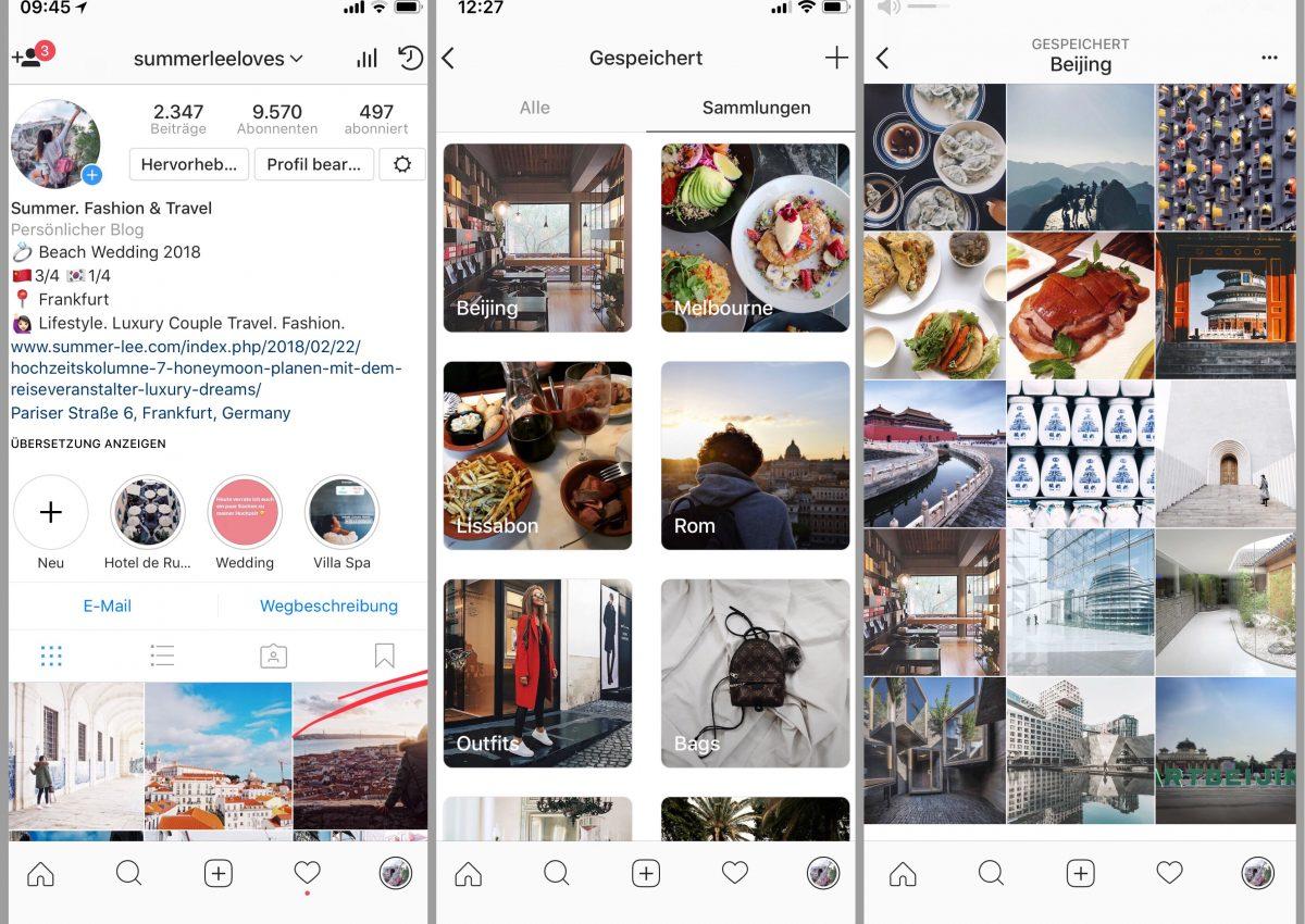 Reiseplanung mit Instagram: einfacher geht's nicht!
